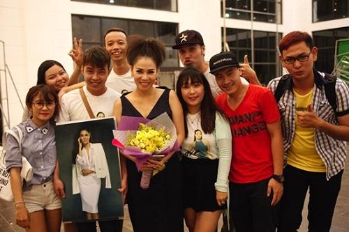 Thu Minh tất bật ngồi ghế nóng và chạy show Hà Nội - 3