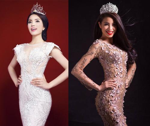 Hoa hậu Kỳ Duyên - Phạm Hương: Ai hơn ai? - 4