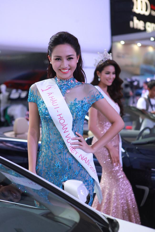 Ngô Trà My, & nbsp;sinh năm & nbsp;1992 vừa đoạt được vị trí á hậu 1 Hoa hậu Hoàn vũ Việt Nam 2015. Ngay trong cuộc thi, có thông tin, bố của & nbsp;cô sinh viên vừa tốt nghiệp & nbsp;Đại học Thăng Long chuyên ngành Tài chính ngân hàng & nbsp;làm chức to & nbsp;trong ngành ngoại giao
