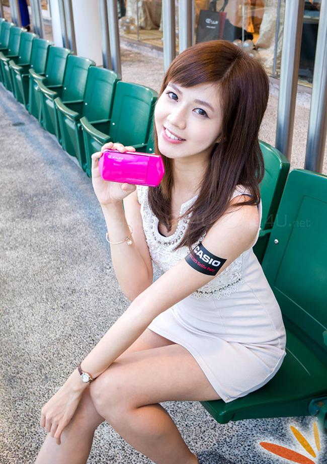 Máy ảnh Casio Exilim EX-TR35 có nhiều màu sắc