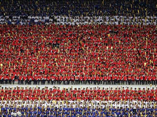 Thủ đô Bình Nhưỡng trước ngày diễu binh lịch sử - 1