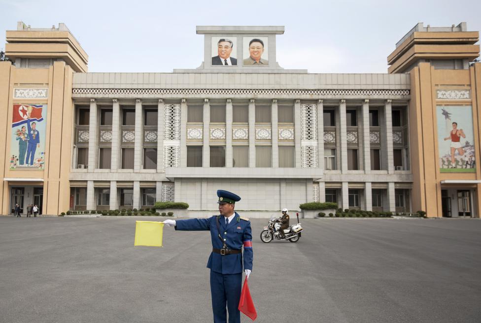 Thủ đô Bình Nhưỡng trước ngày diễu binh lịch sử - 2