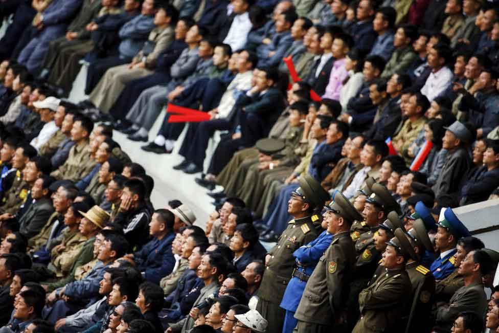 Thủ đô Bình Nhưỡng trước ngày diễu binh lịch sử - 11