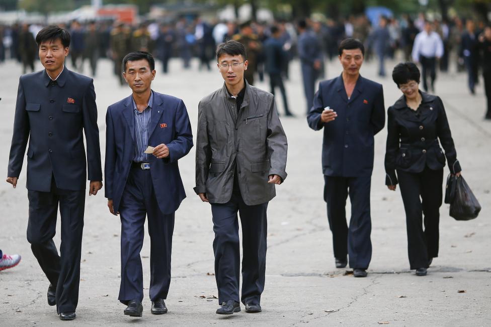 Thủ đô Bình Nhưỡng trước ngày diễu binh lịch sử - 7