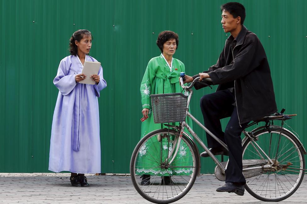 Thủ đô Bình Nhưỡng trước ngày diễu binh lịch sử - 8