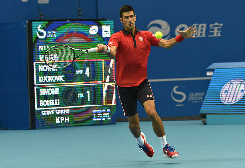 Djokovic - Isner: Nhẹ nhàng tiến bước (TK China Open) - 1