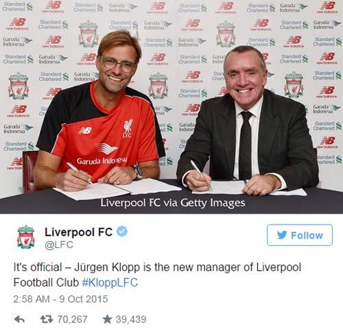 Fan Liverpool lập kỷ lục về độ cuồng dành cho Klopp - 2