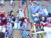 Video An ninh - Đóng cửa trường mầm non bạo hành trẻ ở Quảng Bình
