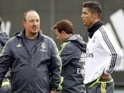 """Bóng đá - Căng thẳng leo thang, Ronaldo """"tuyệt giao"""" với Benitez"""