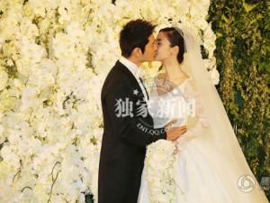 """Clip toàn cảnh """"đám cưới thế kỷ"""" của Huỳnh Hiểu Minh"""