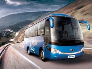 Xe buýt tự lái đầu tiên trên thế giới trình làng