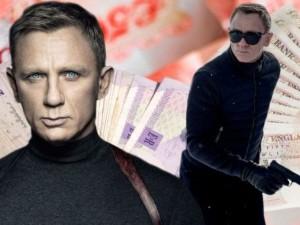 Daniel Craig bỏ túi 60 triệu USD cho vai James Bond