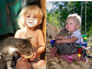 Bạn trẻ - Cuộc sống - 20 bức ảnh chứng tỏ bé nên có một bạn mèo