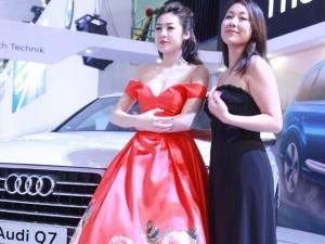 Ngắm cựu Hoa hậu và Á hậu rạng rỡ bên Audi Q7