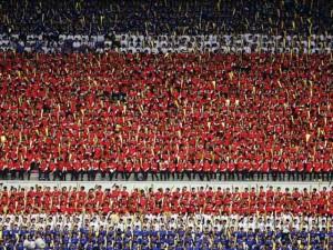 Thủ đô Bình Nhưỡng trước ngày diễu binh lịch sử