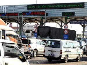 Thu phí gây ùn tắc giao thông có thể bị phạt 70 triệu đồng