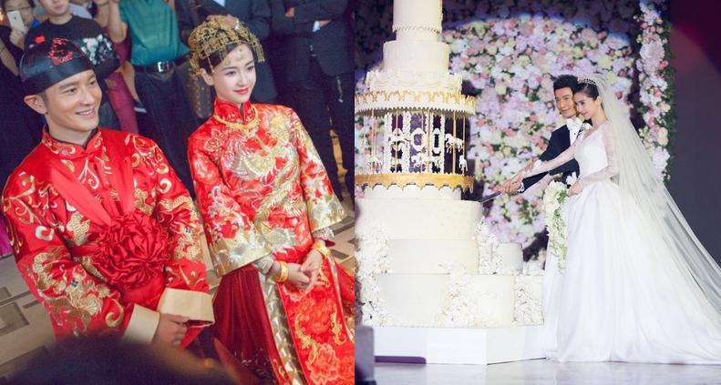 """9 kỷ lục trong """"đám cưới cổ tích"""" của Huỳnh Hiểu Minh - 7"""