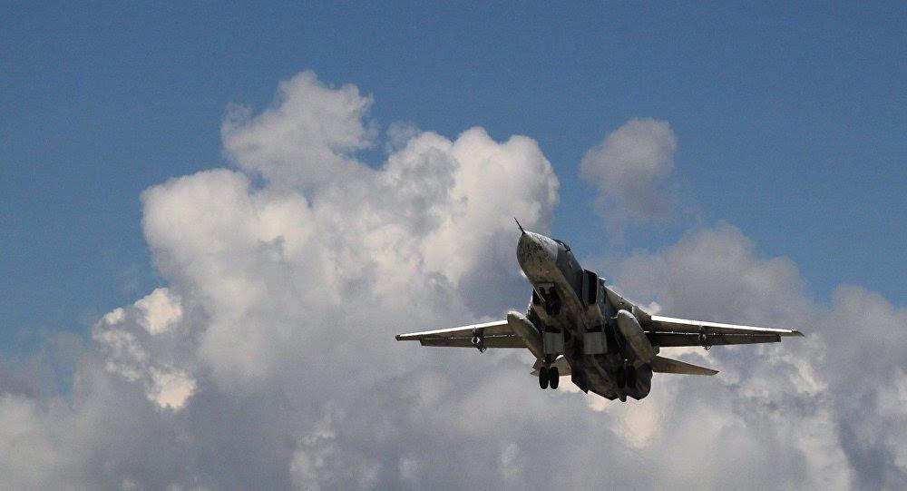 Máy bay Nga giúp quân đội Syria chiếm lại thị trấn chiến lược - 1