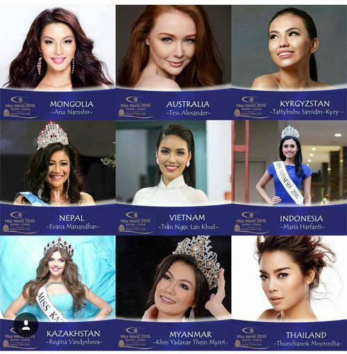 Lan Khuê đã sẵn sàng chinh phục Hoa hậu Thế giới 2015 - 13