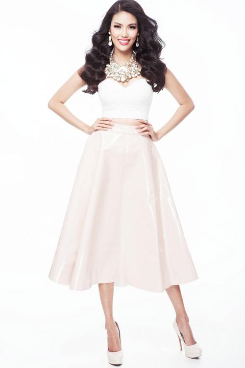 Lan Khuê đã sẵn sàng chinh phục Hoa hậu Thế giới 2015 - 3