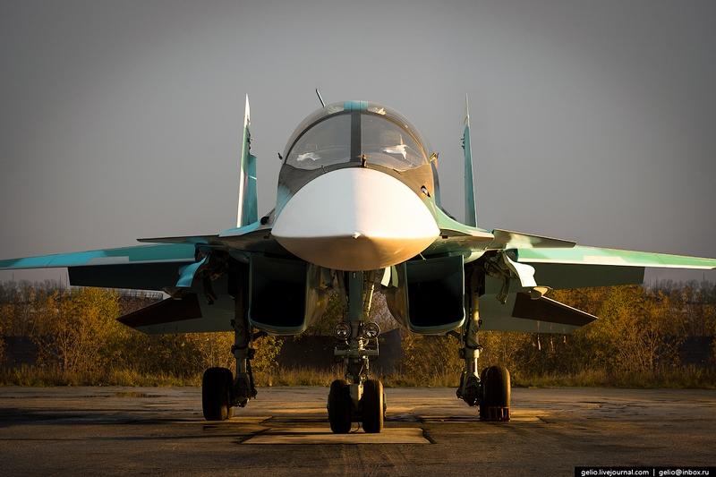 Thâm nhập nơi lắp ráp máy bay cường kích Su-34 - 10