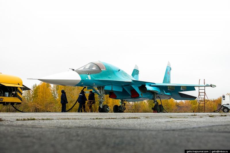 Thâm nhập nơi lắp ráp máy bay cường kích Su-34 - 8