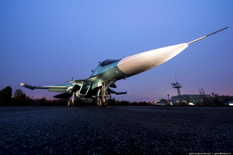 Thâm nhập nơi lắp ráp máy bay cường kích Su-34 - 9