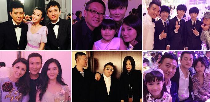 Đám cưới của cặp đôi còn có sự xuất hiện của đông đảo đội ngũ phóng viên - 11