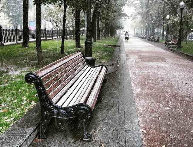 Tuyết đầu mùa phủ trắng thủ đô Nga - 4
