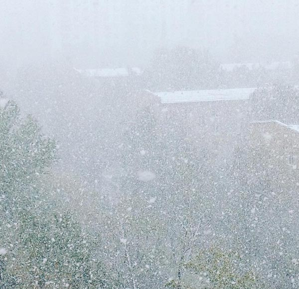 Tuyết đầu mùa phủ trắng thủ đô Nga - 6