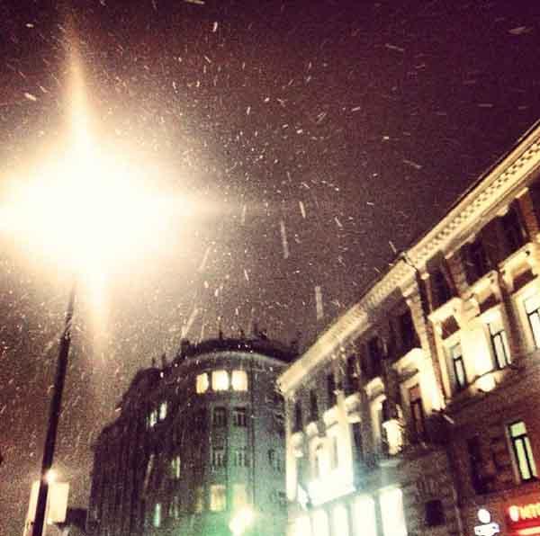 Tuyết đầu mùa phủ trắng thủ đô Nga - 7