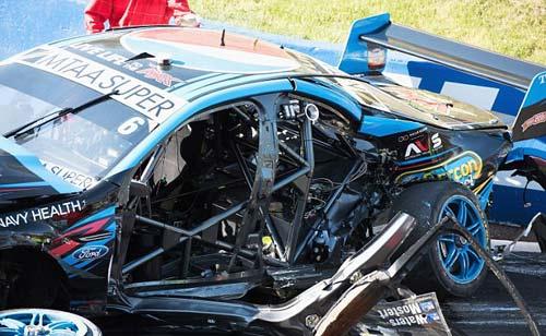 Tai nạn: Xe đua lộn 12 vòng bốc cháy ngùn ngụt - 6