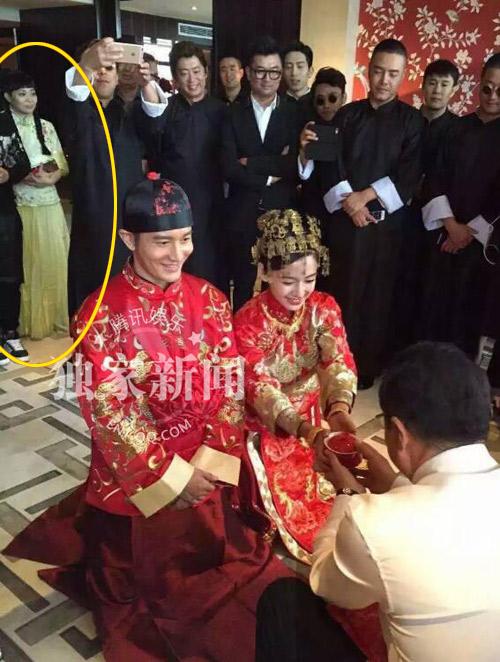 Váy phù dâu trong lễ cưới Angelababy bị chê rẻ tiền - 2