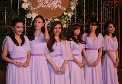Váy phù dâu trong lễ cưới Angelababy bị chê rẻ tiền - 11