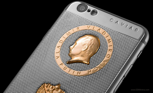 Độc đáo vỏ iPhone 6s chạm hình tổng thống Putin - 1