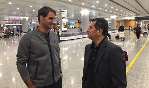 """Tới Thượng Hải bảo vệ """"ngôi báu"""", Federer khoe đầu mới - 2"""