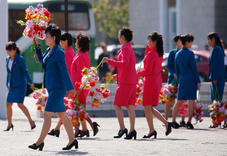 Triều Tiên diễu binh hoành tráng mừng 70 năm thành lập Đảng - 11