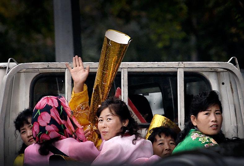 Triều Tiên diễu binh hoành tráng mừng 70 năm thành lập Đảng - 13