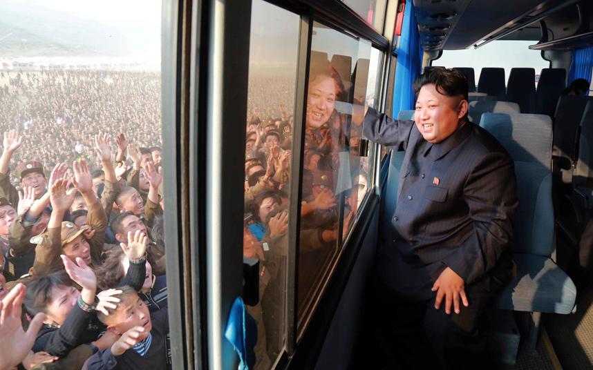 Triều Tiên diễu binh hoành tráng mừng 70 năm thành lập Đảng - 7