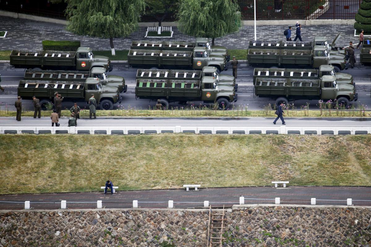 Triều Tiên diễu binh hoành tráng mừng 70 năm thành lập Đảng - 6