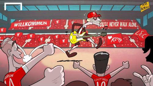 "Premier League: Sân khấu ""heavy metal rock"" của Klopp - 1"