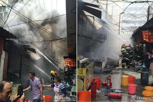Nổ ở nhà hàng Trung Quốc, 17 người thiệt mạng - 1