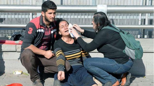 Đánh bom kép rung chuyển Thổ Nhĩ Kỳ, ít nhất 156 người thương vong - 8