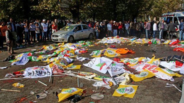 Đánh bom kép rung chuyển Thổ Nhĩ Kỳ, ít nhất 156 người thương vong - 9