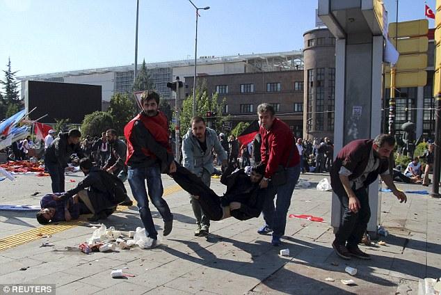 Đánh bom kép rung chuyển Thổ Nhĩ Kỳ, ít nhất 156 người thương vong - 6