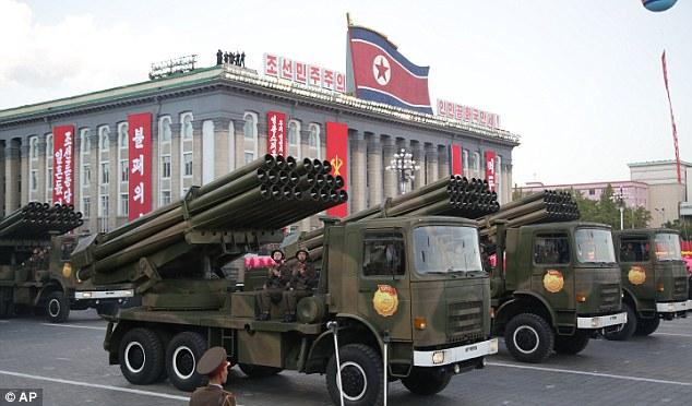 """Soi loạt vũ khí """"khủng"""" trong lễ duyệt binh lịch sử của Triều Tiên - 2"""