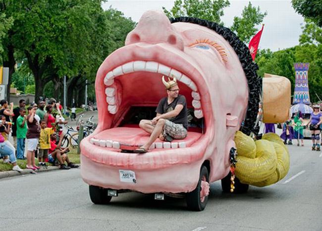 """Khối người phải  """" giật mình """"  khi nhìn thấy chiếc xe này."""
