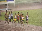 Thể thao - Điền kinh: Các người hùng SEA Games khốn khổ vì mưa