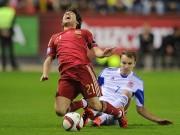 Bóng đá - Tây Ban Nha - Luxembourg: Thắng với giá đắt