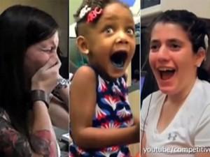 Bạn trẻ - Cuộc sống - Cảm xúc vỡ òa của người khiếm thính lần đầu được nghe